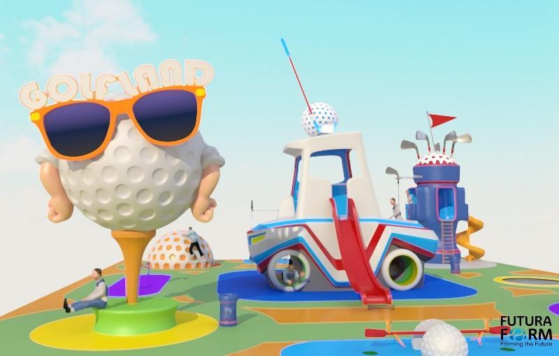 Futura Form'dan Yeni Ürün: Golf konseptli Çocuk Oyun Parkı